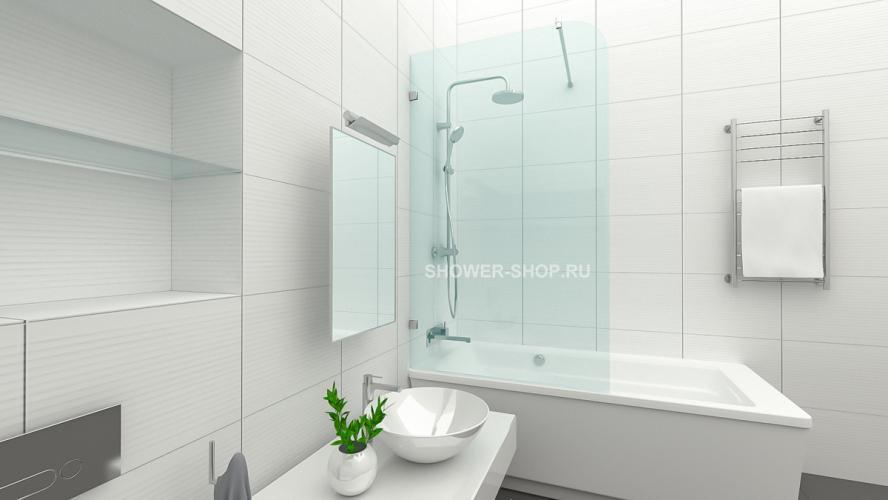 Фурнитура для стеклянного ограждения на ванну №705